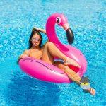 Flamingo úszógumi